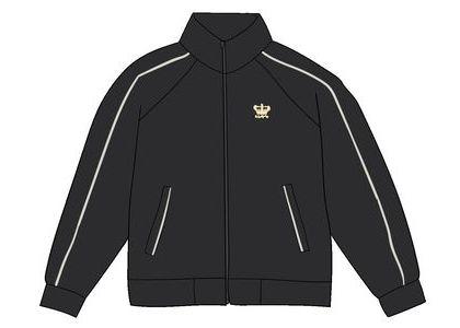 Supreme Crown Track Jacket Blackの写真