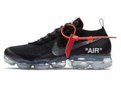 OFF-WHITE × NIKE AIR VAPORMAX BLACK