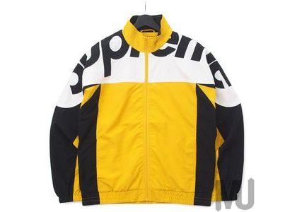 Supreme Shoulder Logo Track Jacket Goldの写真