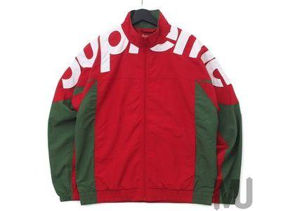 Supreme Shoulder Logo Track Jacket Redの写真