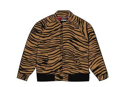 Supreme Wool Harrington Jacket Tiger Stripeの写真