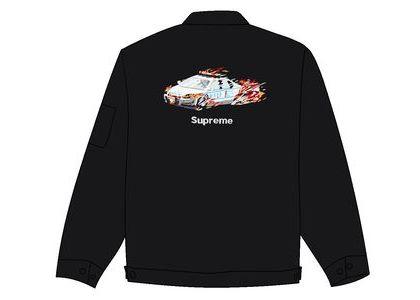 Supreme Cop Car Embroidered Jacket Blackの写真