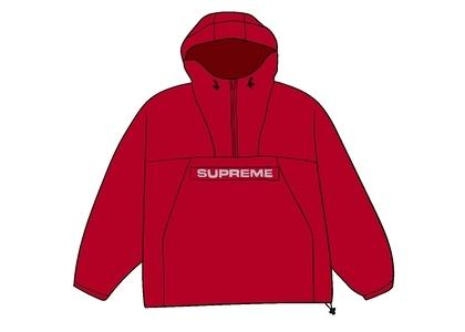 Supreme Heavy Nylon Anorak Redの写真