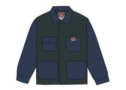 Supreme Ben Davis Chore Coat Navyの写真