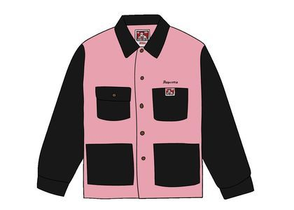 Supreme Ben Davis Chore Coat Blackの写真
