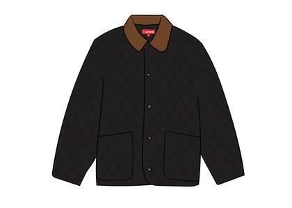 Supreme Quilted Paisley Jacket Blackの写真