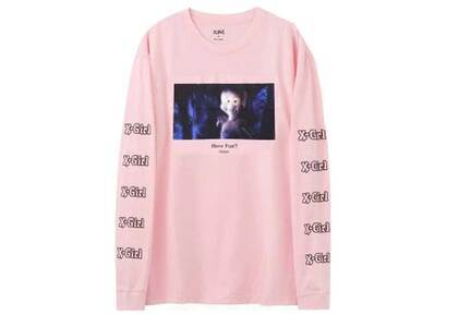Casper × X-GirlL/S Tee Pinkの写真