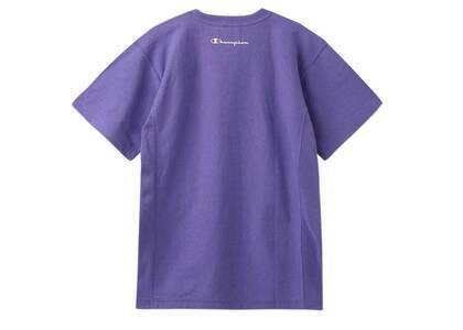 Champion ×  Reverse Weave × X-GirlⓇ S/S Tee Light Purpleの写真