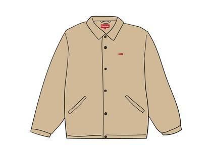 Supreme Snap Front Jacquard Logos Twill Jacket Tanの写真