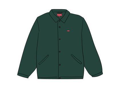 Supreme Snap Front Jacquard Logos Twill Jacket Forest Greenの写真