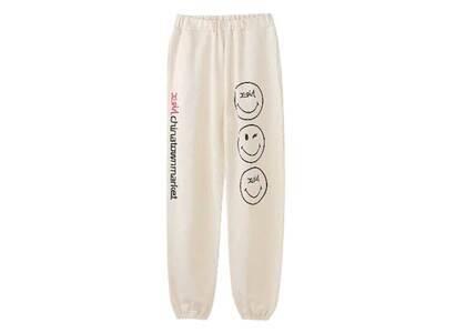 Chinatown Market × X-Girl Winky Sweat Pants Whiteの写真
