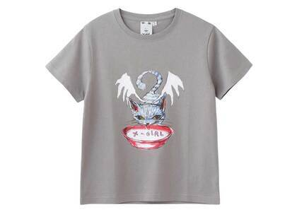 Eri Wakiyama × X-Girl Bat Cat S/S Tee Grayの写真
