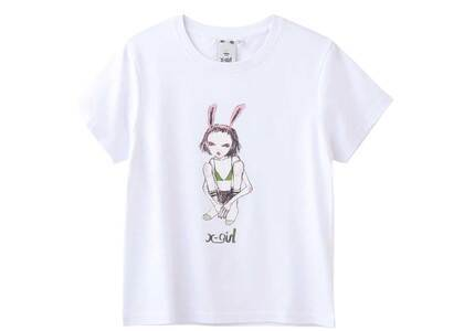 Eri Wakiyama × X-Girl Bunny Girl S/S Tee Whiteの写真