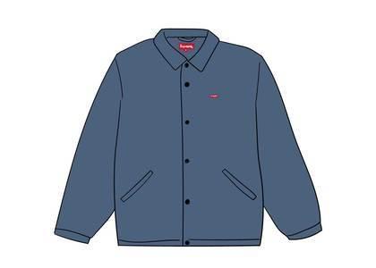 Supreme Snap Front Jacquard Logos Twill Jacket Slateの写真
