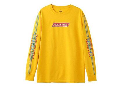 Hysteric Glamour × X-Girl Box L/S Tee Yellowの写真