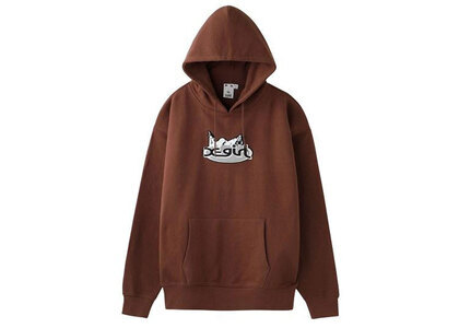 Hysteric Glamour × X-Girl Patch Hoodie Brownの写真