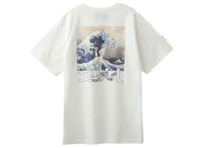 Jimmyz × X-Girl Hokusai Wave S/S Tee Whiteの写真