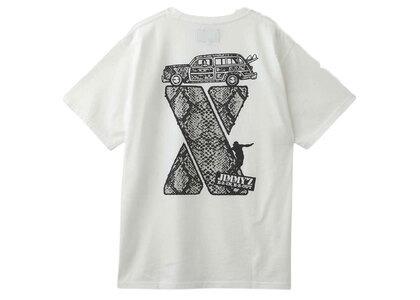 Jimmyz × X-Girl Python S/S Tee Whiteの写真