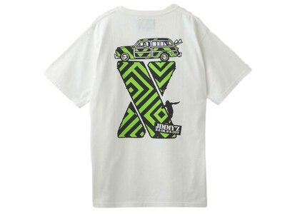 Jimmyz × X-Girl S/S Tee Whiteの写真