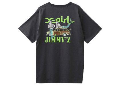 Jimmyz × X-Girl Save The Mermaidz S/S Tee Charcoalの写真