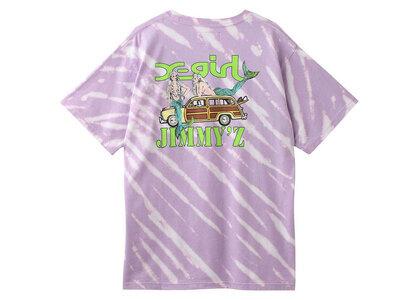 Jimmyz × X-Girl Save The Mermaidz S/S Tee Light Purpleの写真