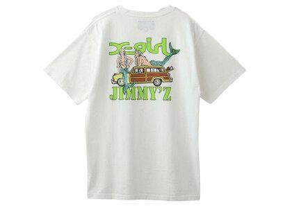 Jimmyz × X-Girl Save The Mermaidz S/S Tee Whiteの写真