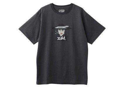 Jimmyz × X-Girl Veiled Lady S/S Tee Charcoalの写真
