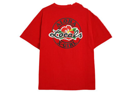 Locals × X-Girl S/S Tee Redの写真