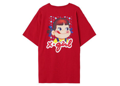 Peko × X-Girl Milky S/S Tee Redの写真