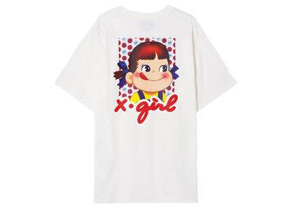 Peko × X-Girl Milky S/S Tee Whiteの写真