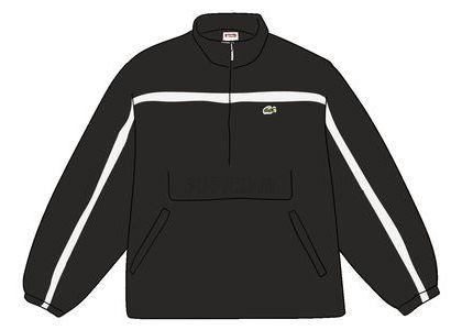 Supreme LACOSTE Puffy Half Zip Pullover Blackの写真