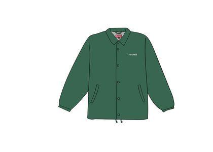Supreme 1-800 Coaches Jacket Dark Greenの写真