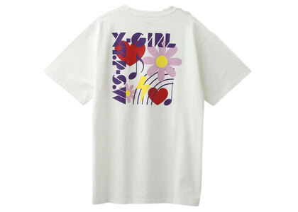 X-Girl Box Icon S/S Tee Whiteの写真