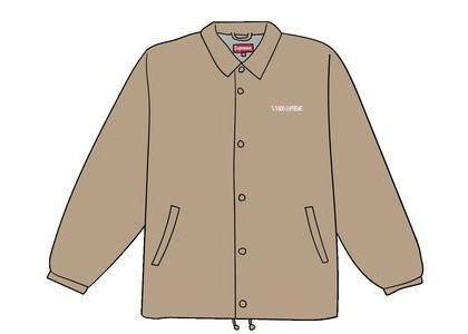 Supreme 1-800 Coaches Jacket Tanの写真