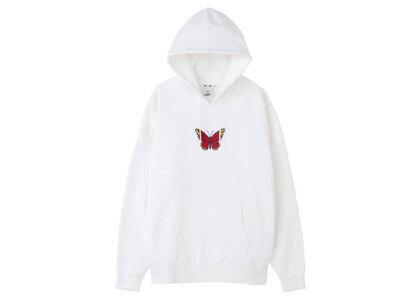 X-Girl Butterfly Patch Sweat Hoodie Whiteの写真