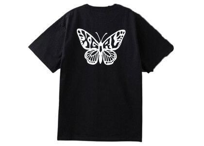 X-Girl Butterfly S/S Tee Blackの写真