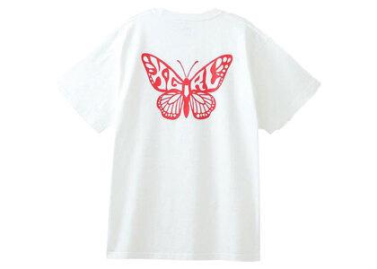 X-Girl Butterfly S/S Tee Whiteの写真