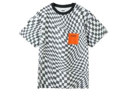 X-Girl Checkered Face S/S Tee Multiの写真