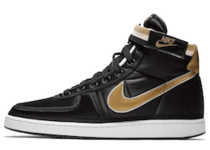 NIKE VANDAL HIGH SUPREME QS BLACK/METALLIC GOLD-WHITE 18FA-Iの写真