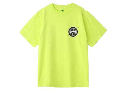 X-Girl Circle Logo S/S Tee yellowの写真