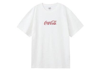 X-Girl Coca-Cola S/S Tee Whiteの写真