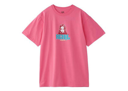 X-Girl Color Face S/S Tee Pinkの写真