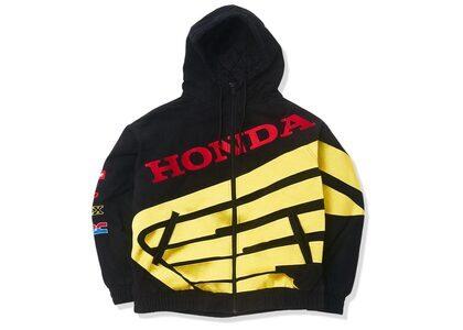 Supreme Honda Fox Racing Puffy Zip Up Jacket Blackの写真