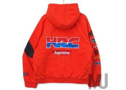 Supreme Honda Fox Racing Puffy Zip Up Jacket Redの写真