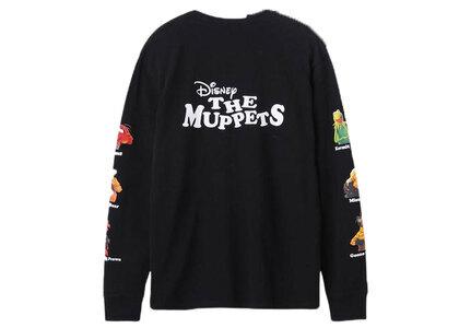 X-Girl Disney The Muppets Printed Sleeve L/S Tee Blackの写真