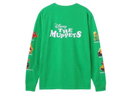 X-Girl Disney The Muppets Printed Sleeve L/S Tee Greenの写真