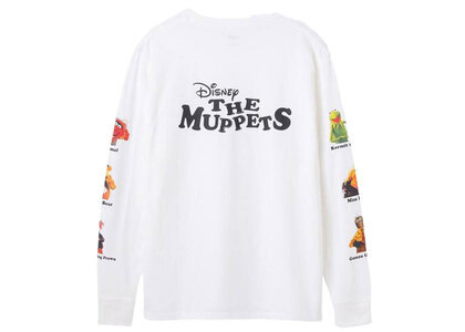 X-Girl Disney The Muppets Printed Sleeve L/S Tee Whiteの写真