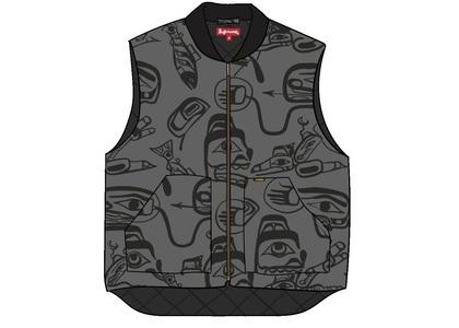 Supreme Haida Work Vest Greyの写真