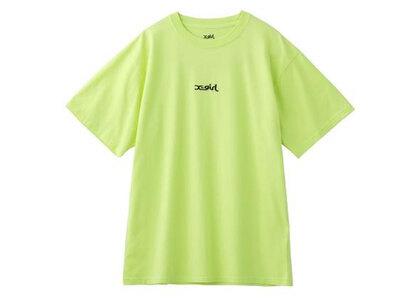 X-Girl Embroidered Mills Logo S/S Tee Light Greenの写真