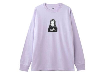 X-Girl Face L/s Tee Purple (S-XL)の写真